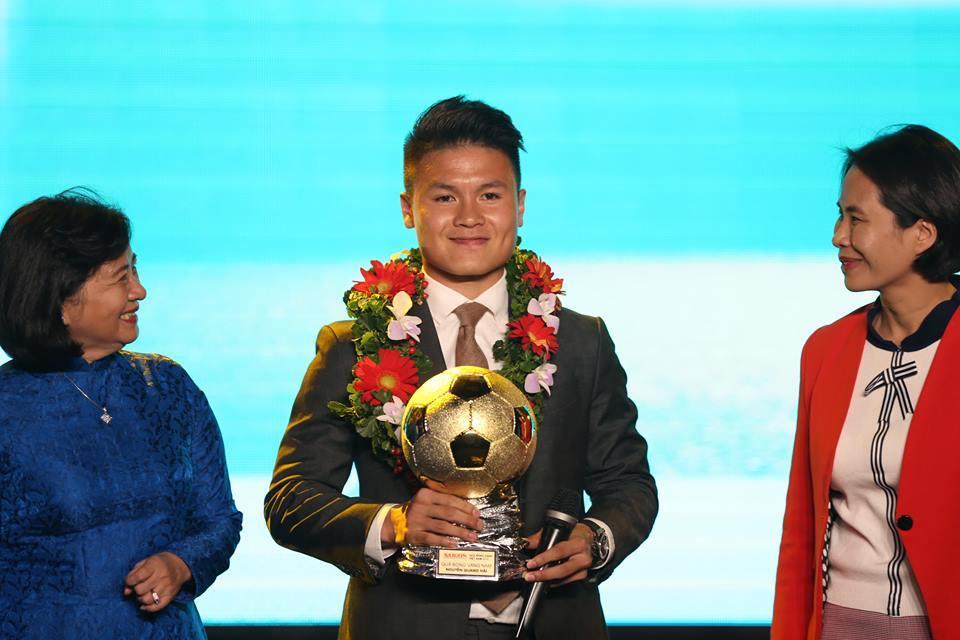 Giải thưởng Quả Bóng Vàng 2019 được công bố, danh hiệu khó tuột tay Quang Hải? 1