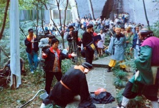 Những hình ảnh chưa từng tiết lộ của hậu trường Tây Du Ký 1986 7