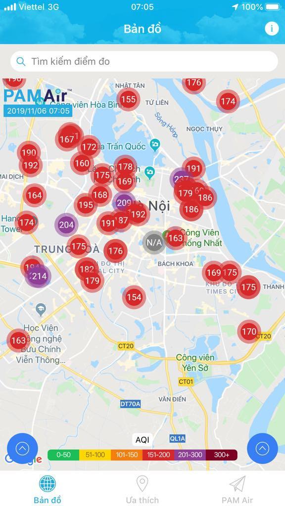 Ô nhiễm không khí tại Hà Nội quay trở lại  1