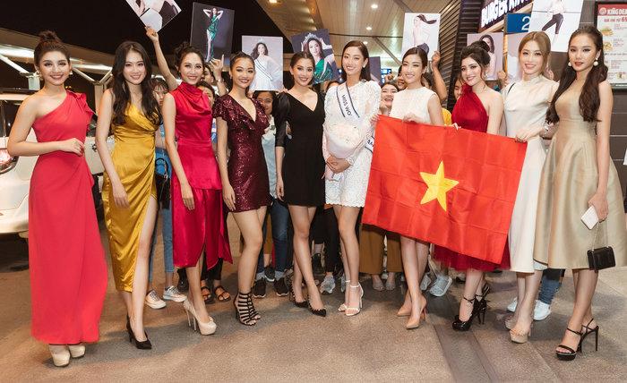 Hoa hậu Lương Thùy Linh lên đường tham dự Hoa hậu Thế giới 2019 3