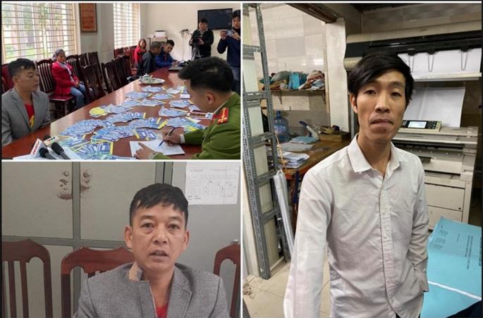 3 đối tượng in vé giả trận Việt Nam - Thái Lan bị khởi tố và bắt tạm giam  1