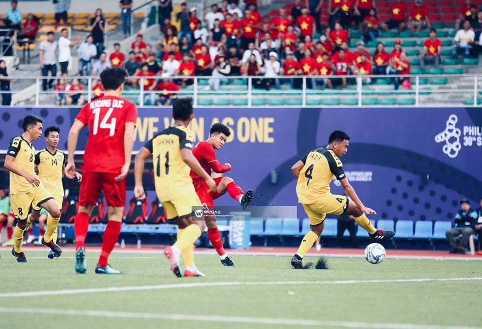 U22 Việt Nam vs U22 Brunei: Chiến thắng tưng bừng 2