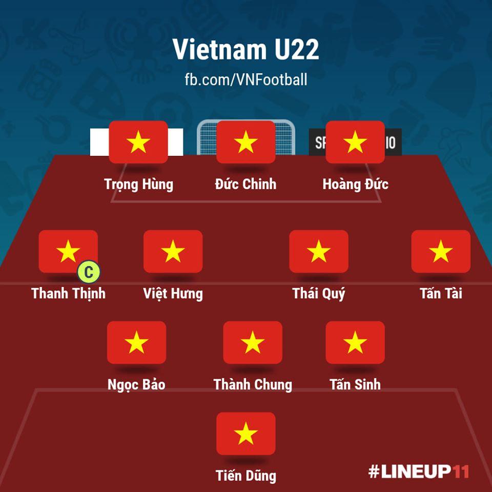 U22 Việt Nam vs U22 Brunei: Chiến thắng tưng bừng 8