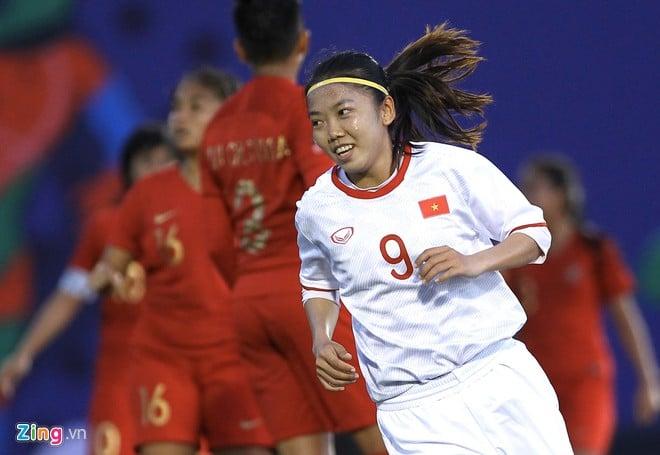 Hủy diệt đội nữ Indonesia, ĐT nữ Việt Nam lọt vào bán kết SEA Games 30  2