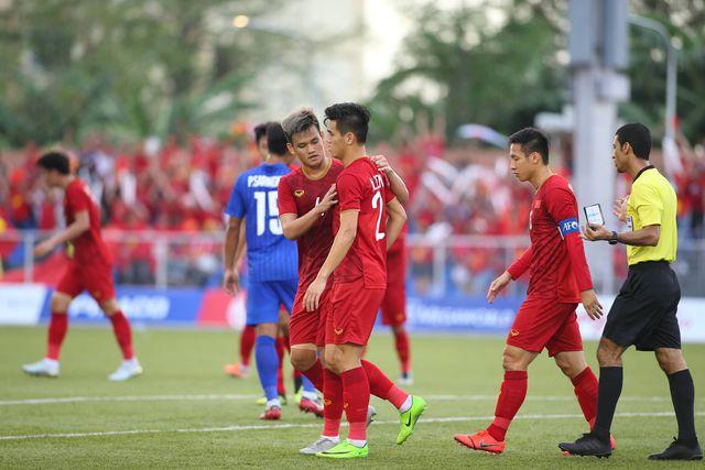 U22 Việt Nam vs U22 Thái Lan: Việt Nam giành vé vào bán kết SEA Games 30 3