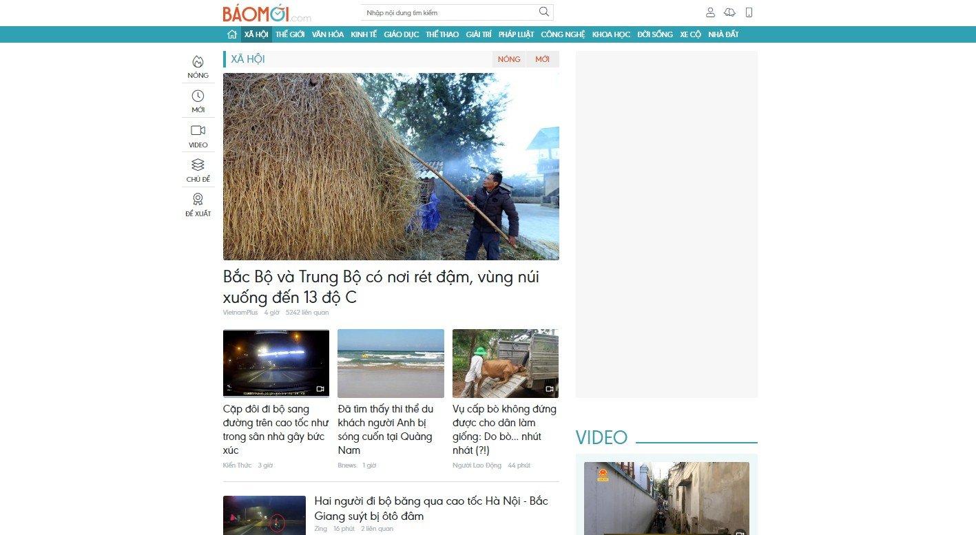 Vì sao người dùng không thể tìm kiếm thông tin về baomoi.com trên Google?  1