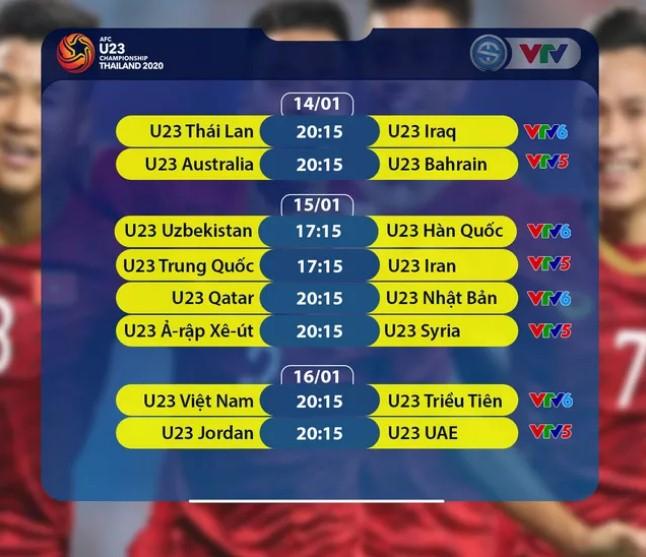 Lịch tường thuật trực tiếp U23 châu Á 2020: U23 Việt Nam 'ra ngõ đụng thú dữ'  3
