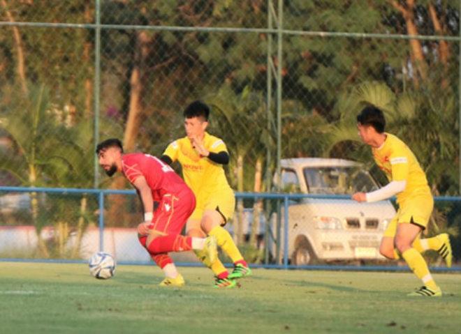 U23 Việt Nam thất thủ trong trận giao hữu với U23 Bahrain  1