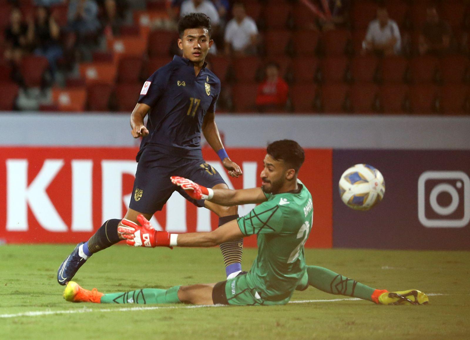 Thảm bại 5 bàn trước đối thủ, HLV Bahrain phải thốt lên U23 Thái Lan quá mạnh 1