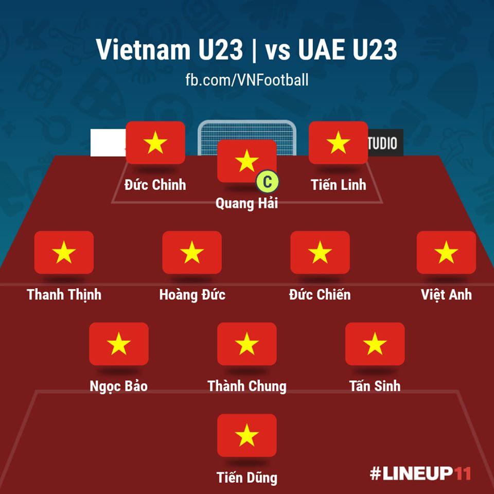 U23 Việt Nam 0-0 U23 UAE (Hết giờ): Kết quả chấp nhận được  6