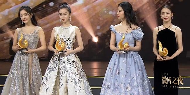 Xuất hiện cùng Angelababy, Lưu DIệc Phi gây bất ngờ vì ngoại hình khác lạ  3