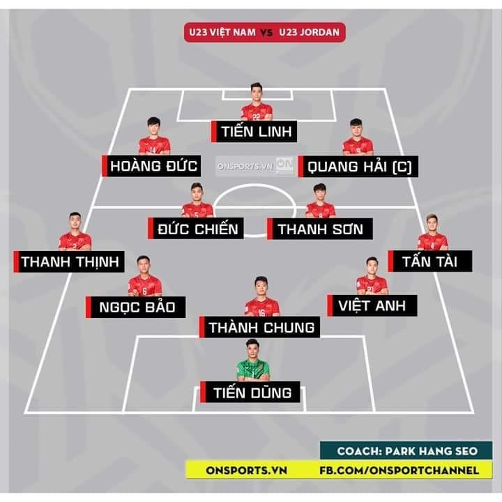 Việt Nam 0-0 U23 Jordan: Thế trận bế tắc 5