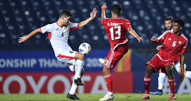 U23 Jordan và U23 UAE dắt tay nhau đi tiếp sau trận hòa có tỉ số  1