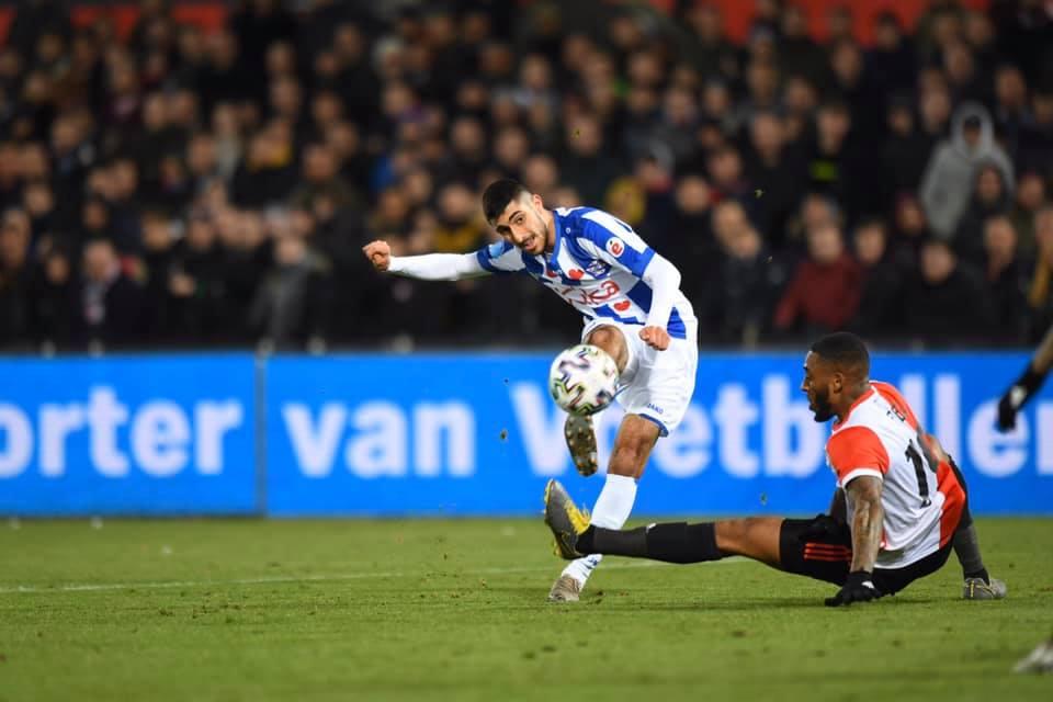 Đoàn Văn Hậu không được đá chính trong ngày SC Heerenveen nhận thất bại  2