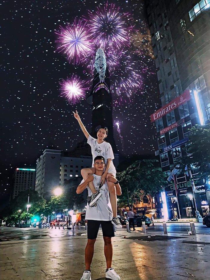 Ngọc Trinh hẹn hò cùng trung vệ U21 Việt Nam  5