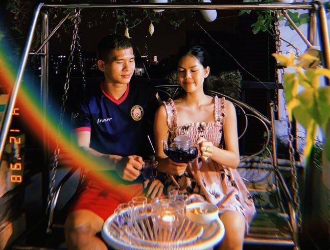 Ngọc Trinh hẹn hò cùng trung vệ U21 Việt Nam  4
