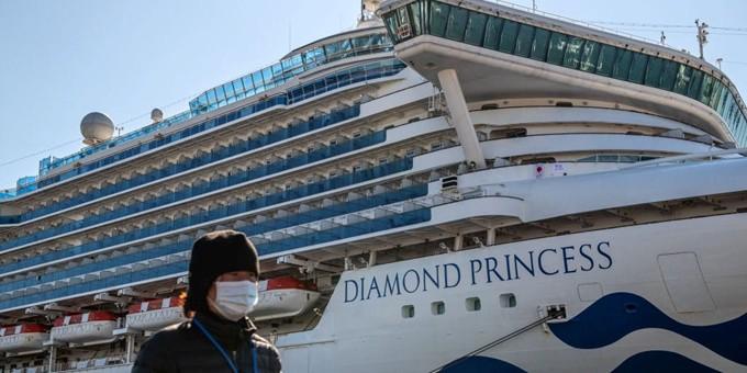 Nhiều nước sơ tán công dân sau khi du thuyền có 355 ca nhiễm virus corona  1