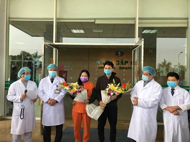 Thêm 2 bệnh nhân nhiễm virus corona dự kiến xuất viện vào ngày mai  1