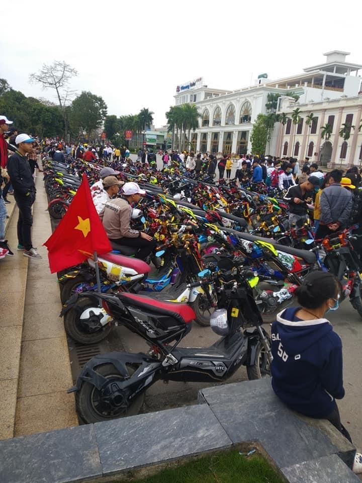Nhóm học sinh Nam Định vượt 10km để 'off team xe đạp điện' bất chấp dịch virus corona  3