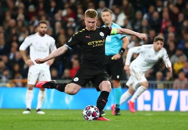 Kết quả Cúp C1, Real Madrid vs Man City: Thẻ đỏ, penalty và ngược dòng  3