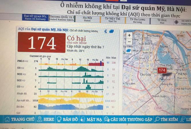 Chất lượng không khí ở Hà Nội trở lại mức ô nhiễm nhất thế giới  1