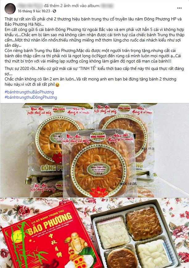 Tiệm bánh trung thu hot nhất Hà Nội bị tố 2 lần liên tiếp trong 3 ngày, dân tình xôn xao nghi ngờ về chất lượng bánh 10