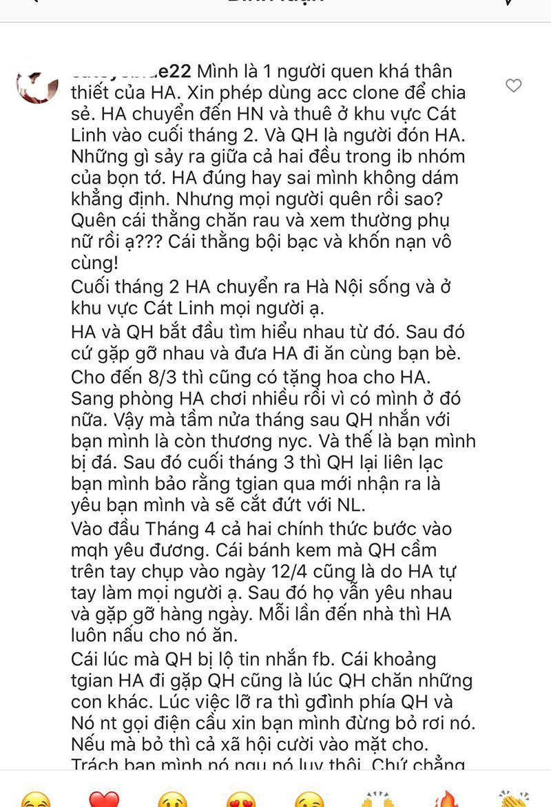 Bạn thân Huỳnh Anh vạch trần bộ mặt thật của Quang Hải: Khi dính phốt thì cầu xin, yêu rồi vẫn nhắn tin với gái lạ? 9