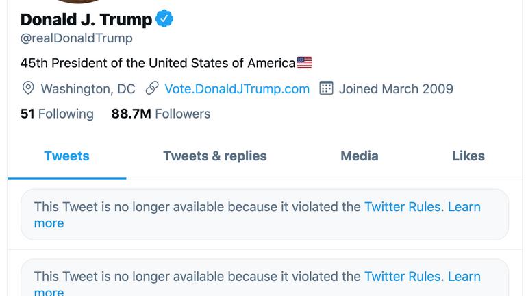 رئیس جمهور ترامپ که به طور دائمی توسط مجموعه ای از شبکه های اجتماعی قفل شده است ، از ساخت بنیاد خود خبر داد 1