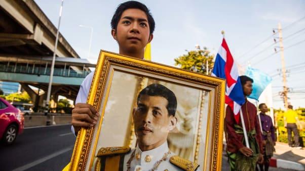 Các nghi lễ đăng quang của Đức vua Thái Lan 1