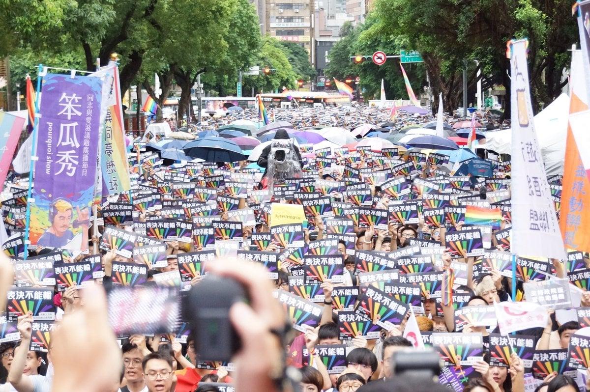 Đài Loan hợp pháp hóa hôn nhân đồng tính 1