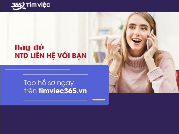 Tìm việc làm thêm nhanh chóng và hiệu quả tại timviec365.vn 3