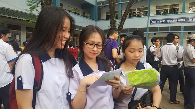 Bộ GD-ĐT dự kiến công bố đáp án các môn thi trắc nghiệm trong hôm nay 1