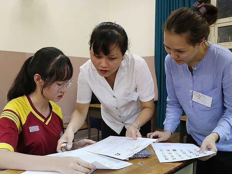 11.900 bài thi trắc nghiệm của Thanh Hóa phải kiểm sửa 1