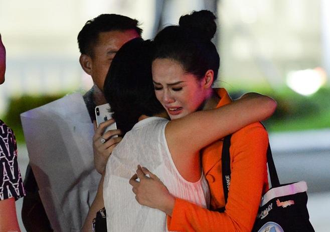 Bạn gái Trọng Đại U23 khóc nấc khi bị loại ở Miss World Việt Nam 2019 1