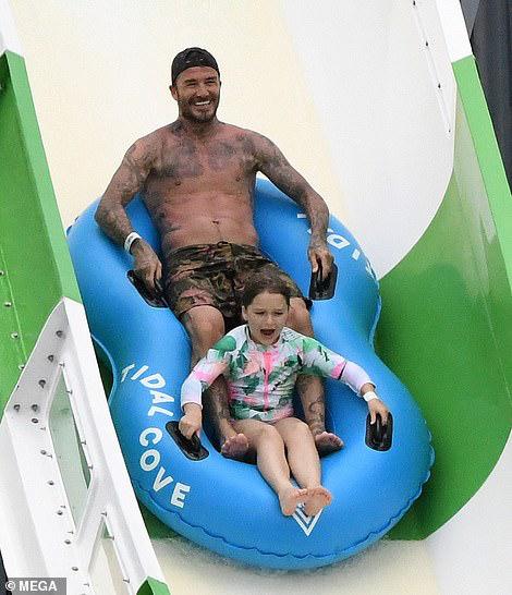 Hình ảnh mới nhất của David Beckham chứng minh 'gừng càng già càng cay' 5
