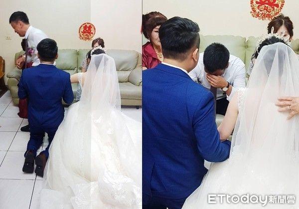 Ngày con gái đi lấy chồng, bố bật khóc nói một câu khiến ai cũng ngấn lệ 1