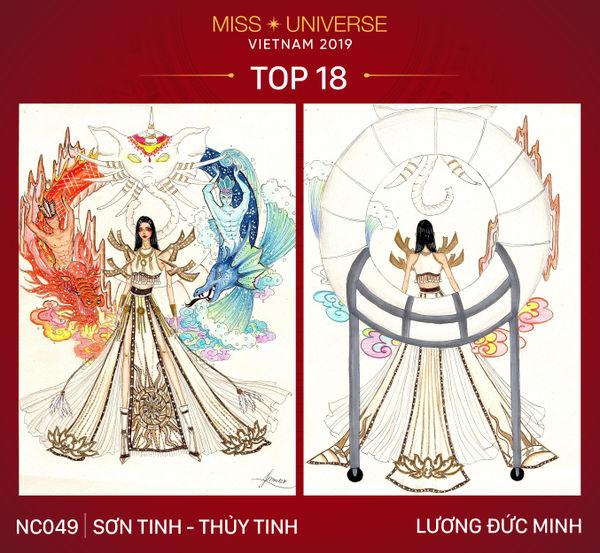 Phản ứng của Hoàng Thùy nếu mặc trang phục 'Bàn thờ' tại Miss Universe 3
