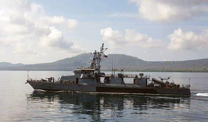5 tàu chiến Trung Quốc ngầm đi vào lãnh hải Philippines 1