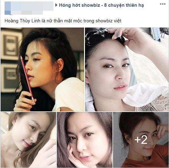 Gọi Hoàng Thùy Linh là 'Nữ thần mặt mộc Vbiz', fan réo tên Vĩnh Thụy 1