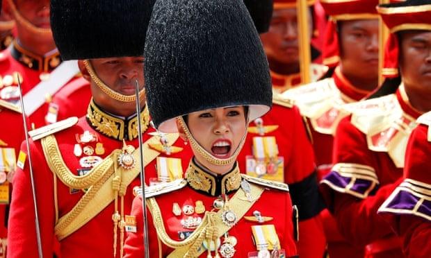 Hình ảnh hiếm của Hoàng phi Thái Lan gây sập cả website 2