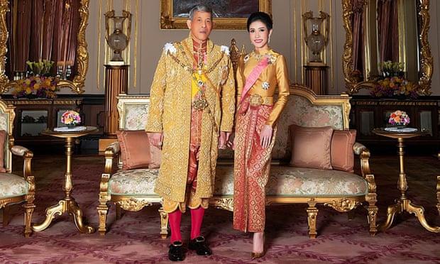 Hình ảnh hiếm của Hoàng phi Thái Lan gây sập cả website 4