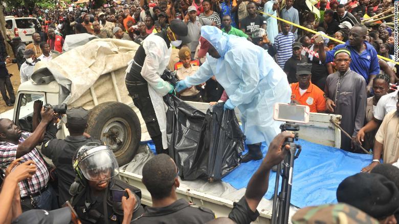Cháy trường nội  trú Liberia, 26 trẻ em thiệt mạng 1