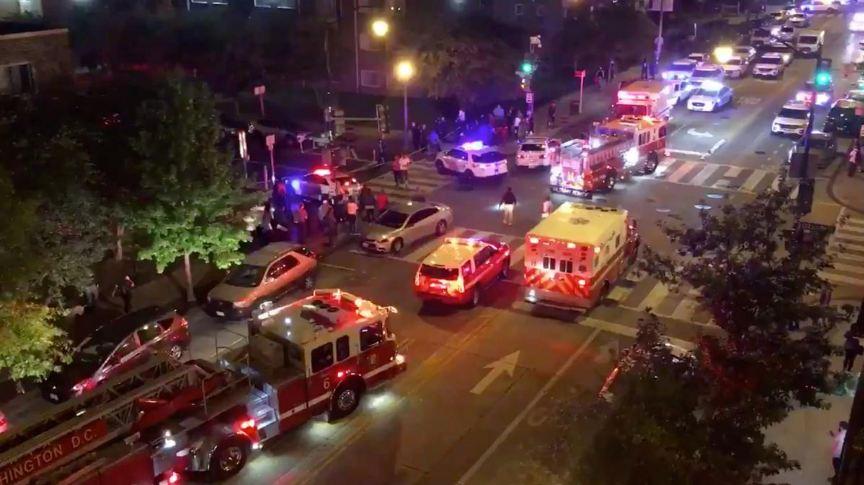 Xả súng gần Nhà Trắng, 6 người thương vong 1