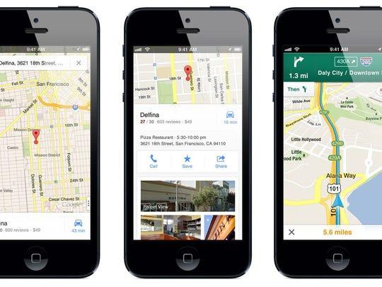 Google Maps trên iPhone thêm tính năng thông báo điểm bắn tốc độ 1