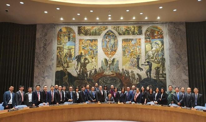 Việt Nam chính thức thực hiện vai trò Chủ tịch Hội đồng Bảo an LHQ 4