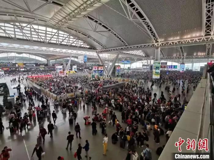 'Biển người' Trung Quốc trong cuộc đại di cư Xuân vận 2020 2