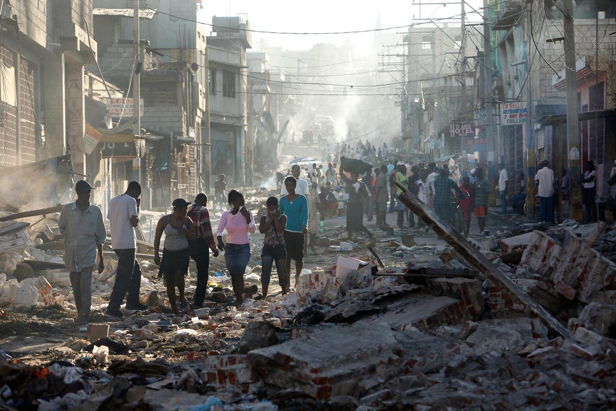 10 năm sau động đất, sóng thần hủy diệt, Haiti 'sống mà chằng chịt sẹo' 7