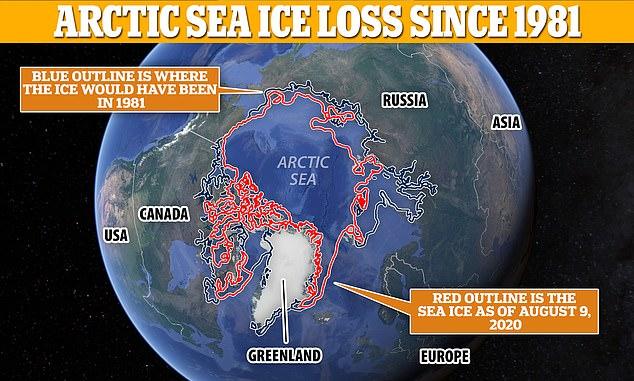 Băng Bắc Cực có thể bị xóa sổ vào năm 2035 2