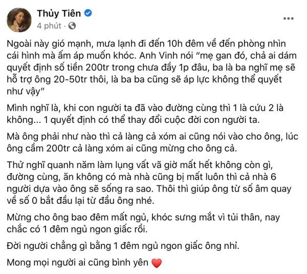 Tin giải trí hot nhất trưa 29/10: Thủy Tiên lên tiếng việc cho cụ già 200 triệu, Sơn Tùng MT-P tiếp tục gặp vận đen 3