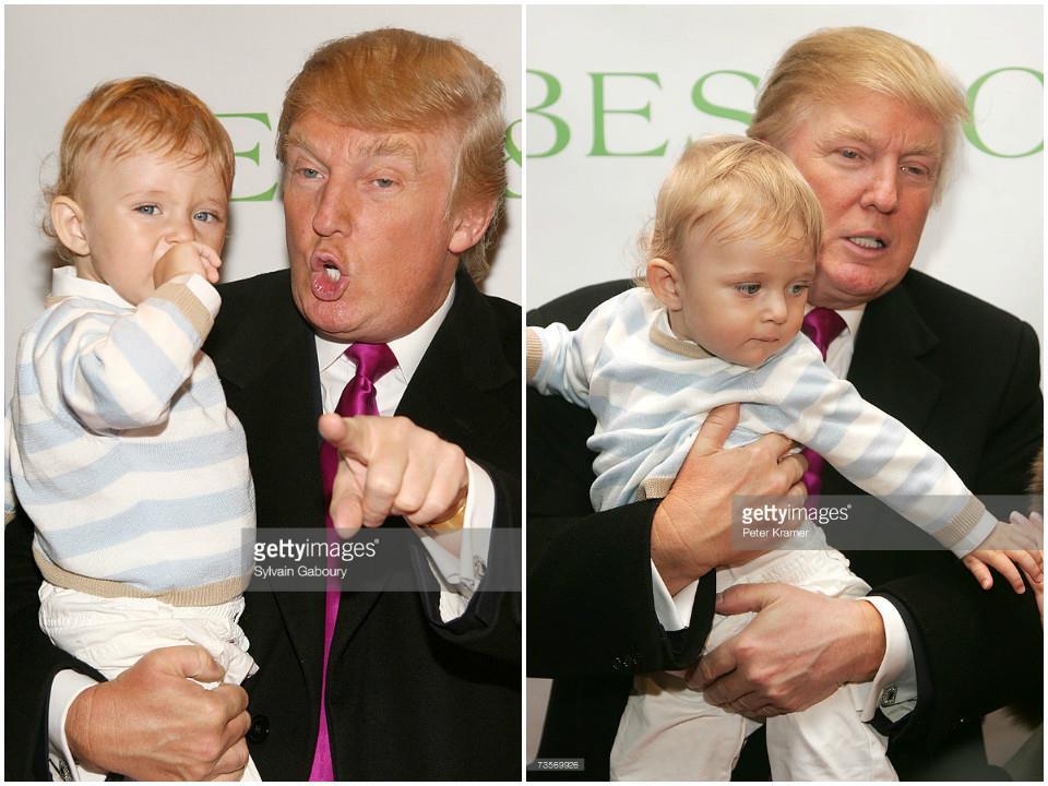 Loạt ảnh 'Hoàng tử Nhà Trắng' Barron Trump đốn tim công chúng cách đây 4 năm 4